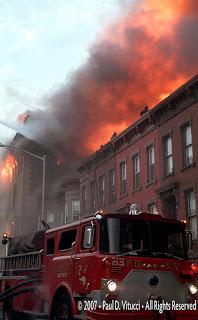 Vintage FDNY - 1977 6 Alarm Brooklyn Department Store Fire