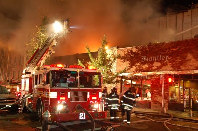 Manhattan Restaurant Fire 2007